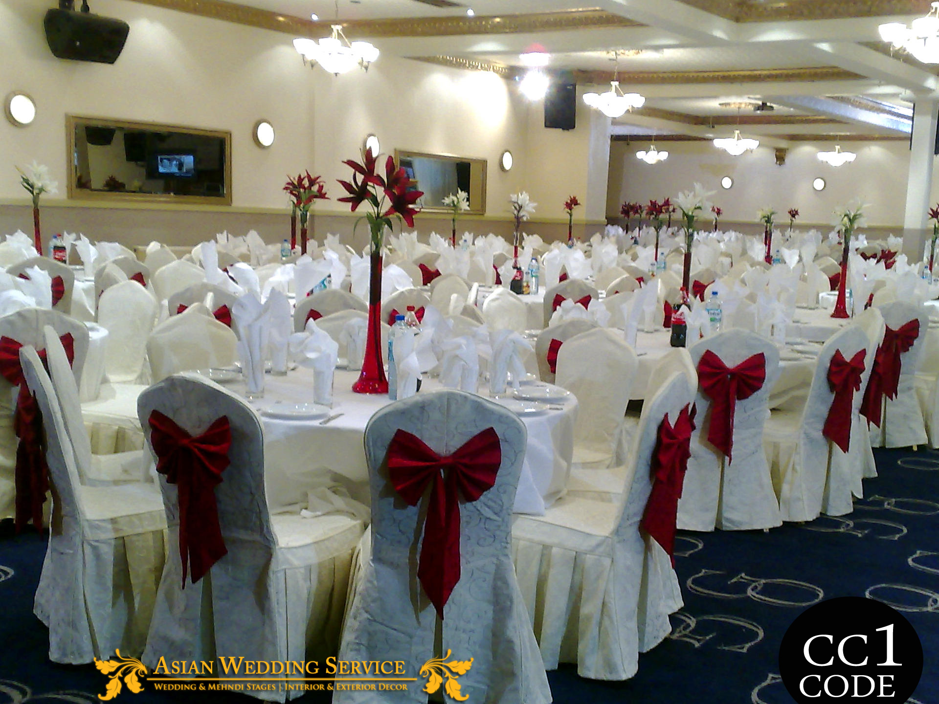 chair covers wedding stages