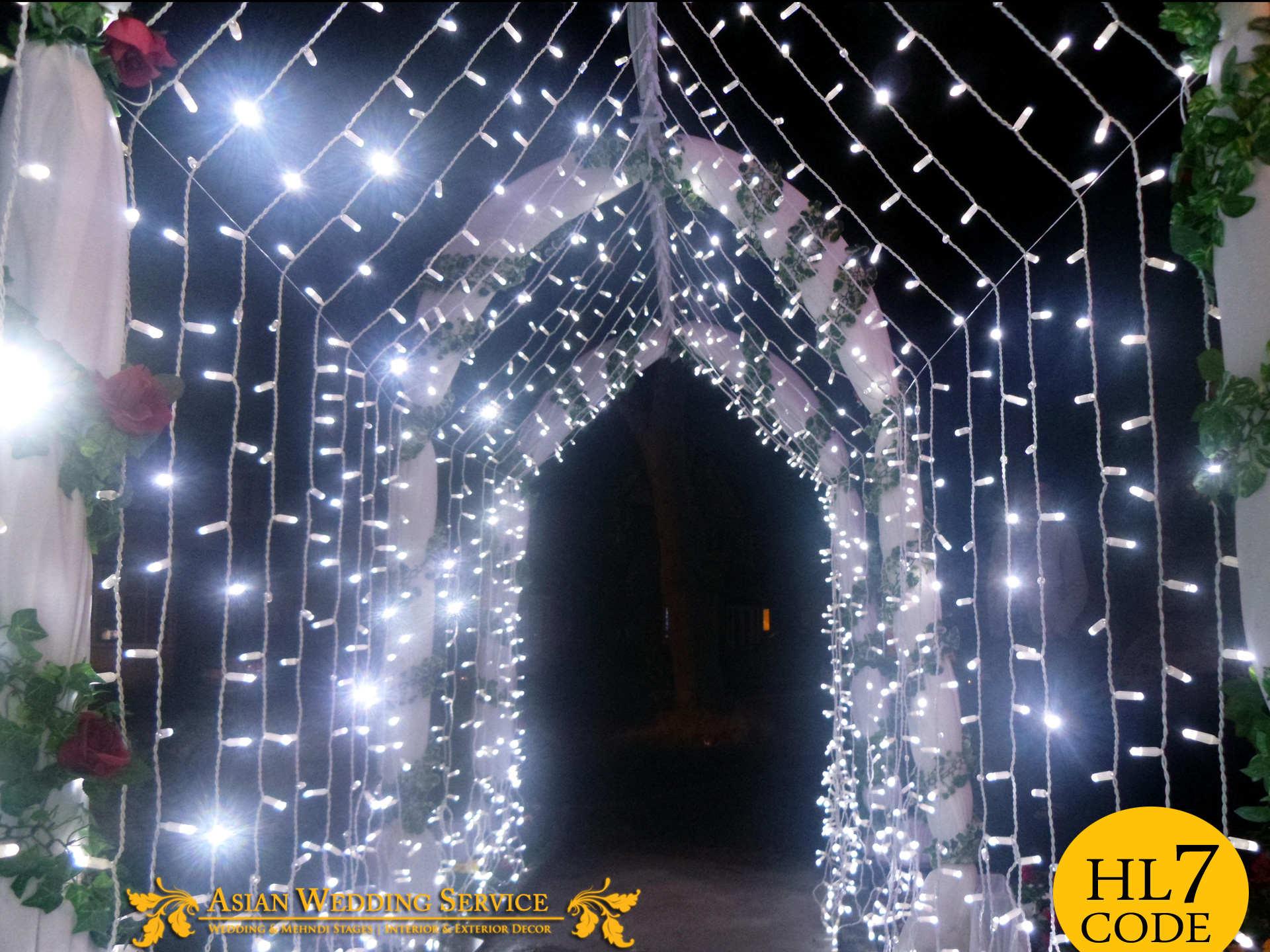 House Lighting Asian Wedding Stages